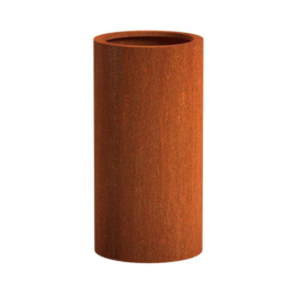 CorTenstaal plantenbak `Arrondi` Ø600 x 1200mm