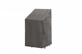 Tuinmeubel beschermhoes `Luxe` voor stapelstoelen, afmetingen L66 x B66 x H128 cm.