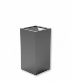 Luxe polyester plantenbak `Alto` 400x400x800mm