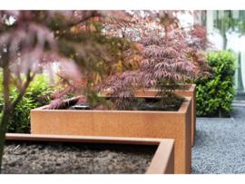 CorTenstaal plantenbak `Robuste` 700x700x700mm