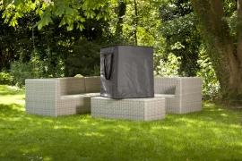 Tuinmeubel beschermhoes `Luxe` kussentas, afmetingen L75xB75xH90 cm.