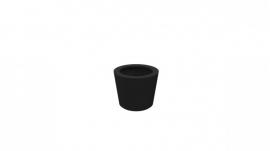 Luxe polyester plantenbak `Elegante`  Ø550 x 760mm