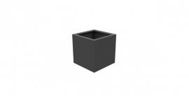 Aluminium plantenbak `Rubik` 600x600x600mm
