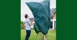 Mega vlieshoes  B200 x H240 cm  Kleur: groen