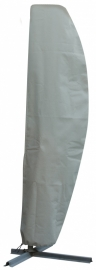 Zweefparasolhoes `Premium` antraciet 250x70 cm. SFS-3 lagen constructie, ademend.