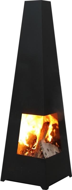 Terrashaard Chacata Black, afmetingen L37 x B37 x H122 cm   4