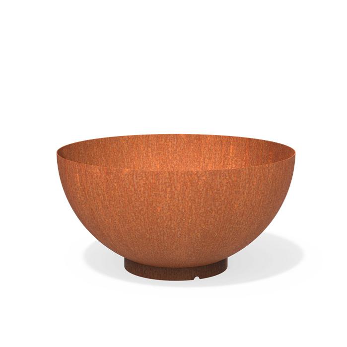 CorTenstaal plantenbak `Bowl` Ø1200 x 605mm