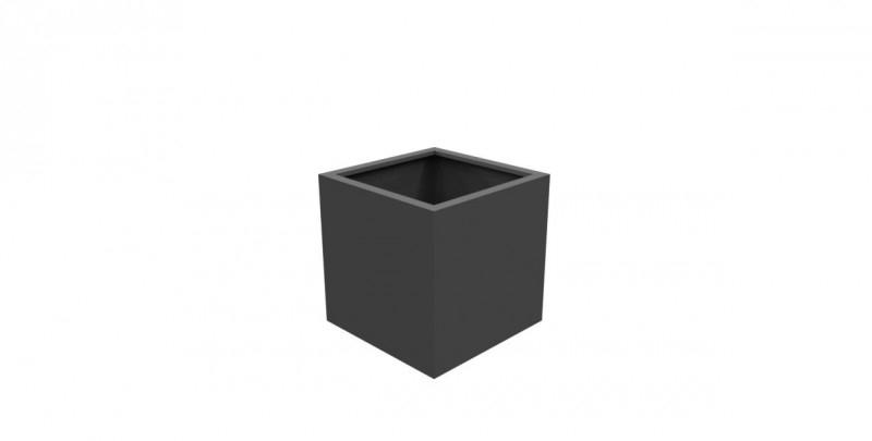 Aluminium plantenbak `Rubik` 700x700x700mm