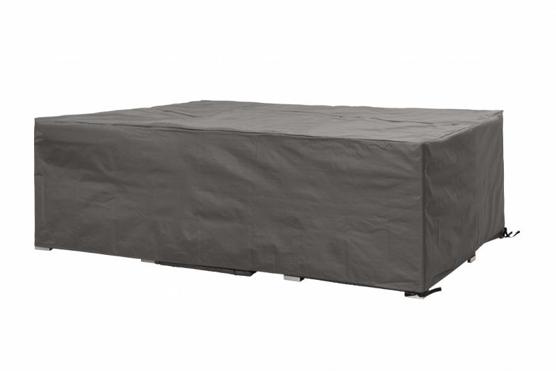 Tuinmeubel beschermhoes `Luxe` voor loungeset, afmetingen L240xB180xH75 cm.