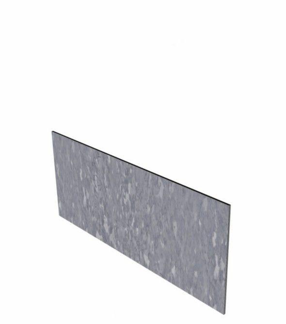 Verzinkt staal kantopsluiting recht 10 strips a 2300x2x150 mm (23 m lengte)