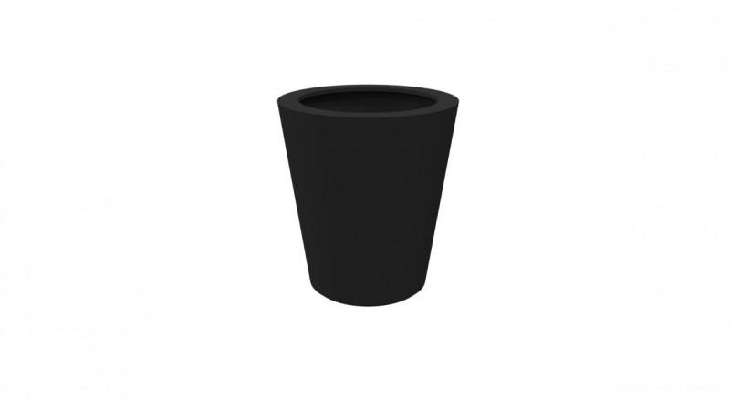Luxe polyester plantenbak `Elegante` Ø890 x 1000mm