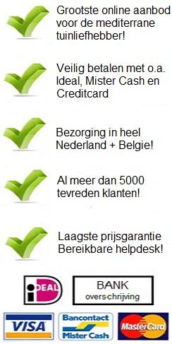 Voordelen www.deolijfgaardshop.nl