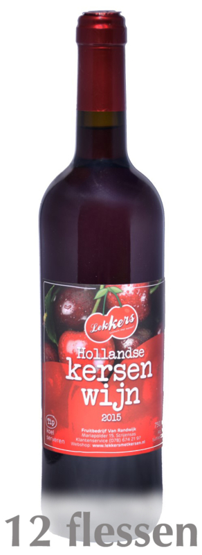 Pakket Kersenwijn 750ml (12 fl)