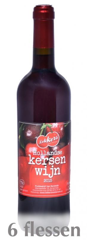 Pakket Kersenwijn 750ml (6 fl)