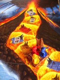 Naar het Middelpunt der Aarde - bordspel