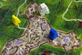 Carcassonne Mayflower - bordspel