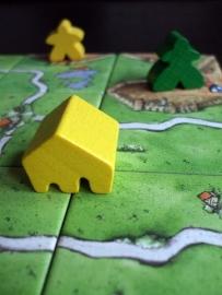 Carcassonne Burgemeesters en Abdijen - bordspel
