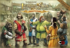League of Six expansion - Loyal Retinue - bordspel