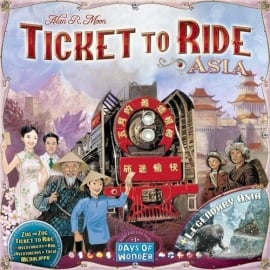 Ticket to Ride - Asia (Map collection 1)