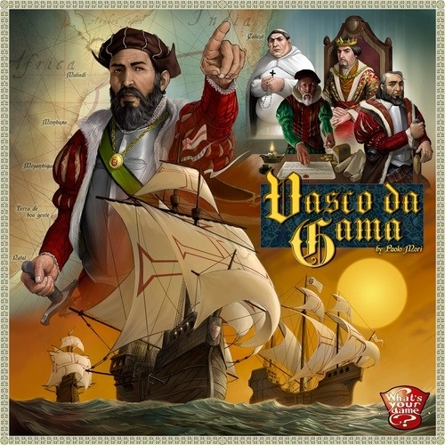 Vasco Da Gama - Bordspel