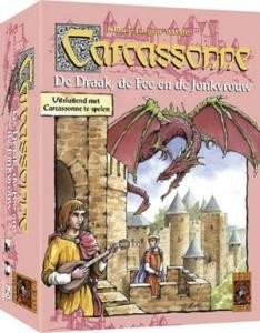 Carcassonne: De Draak, de Fee en de Jonkvrouw - bordspel