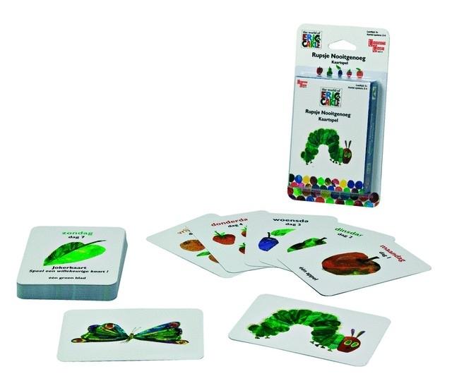 Rupsje Nooitgenoeg - Kaartspel - bordspel