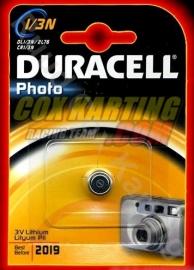 Batterij Duracell 2019 voor Sniper Lasers