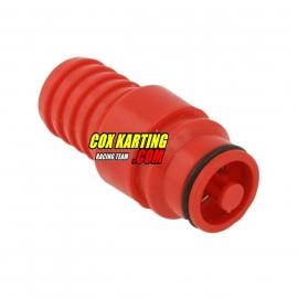 Radiateur slang koppeling man rood