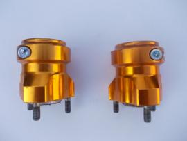 CRG Achterwielnaaf 40x70 mm goud