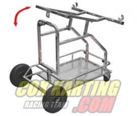Kart trolly HULK met lift-up funktie-verchroomt