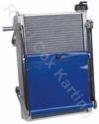 RADIATOR-KIT EXTRA 450x300x40mm BLUE