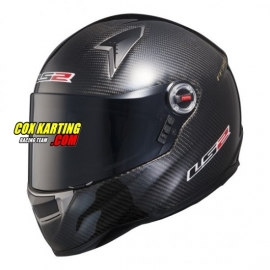 LS2 Helm FF396 Carbon CR1 Racing Small Carbon
