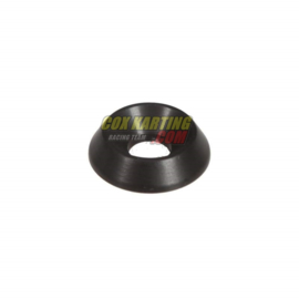 Verzonken schijven (U schijf) zwart m 8x19