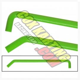 Radiateurslang (waterslang) Groen syliconen slang