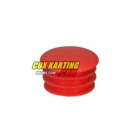 Dop voor buis 28 mm rood