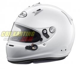 Arai GP-6 PED Autosport helm met M6 studs, wit