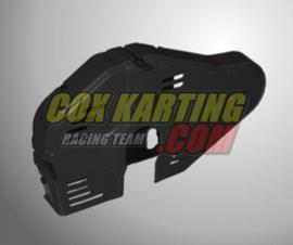 Ketting beschermer plastic Zwart