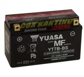 Accu YUASA YT7B-BS voor Rotax