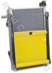 RADIATOR-KIT MAX 450x280x40mm YELLOW