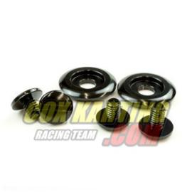 Arai schroevenkit kleur zwart geanodiseerd