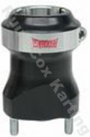 WILDKART Achterwielnaaf 40x85 mm zwart