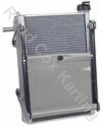 RADIATOR-KIT EXTRA 450x300x40mm SILVER
