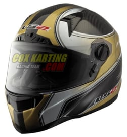 LS2 helm FF385 CT2 Racing Carbon XL