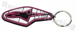 Alpinestars Track Keychain Pink