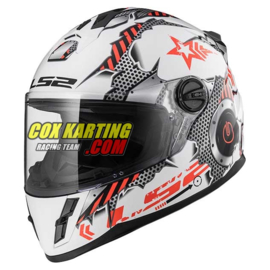 LS2 Helm FF392 Machine Junior kinderhelm M