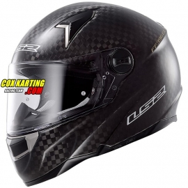 LS2 Helm FF396 Carbon CR1 Racing Big Carbon