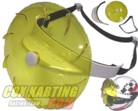 Yellow Whirly Visor for Rain (Turbo vizier)