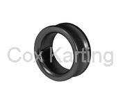 Afstelring voor 25 mm fusee 10 mm aluminium zwart