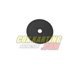 Stoelring metaal 60x2 m/m zwart