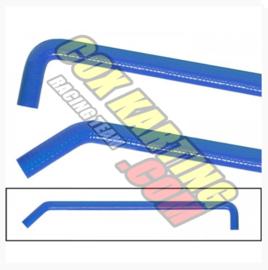 Radiateurslang (waterslang) Blauw syliconen slang